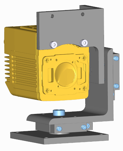 Foveal Systems: FM3_2a Mount for Cognex DataMan 470 series